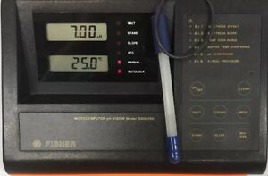 Fisher Microcomputer Ph vision Model S60015a Ph Meter free Shipping