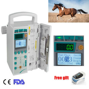 Hypodermic Syringe Injector Iv Infusion Pump For Animal human Audible Alarm