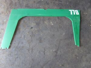 Oliver 770 Gas Tractor Side Panel right
