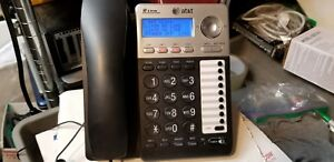 At t Ml17929 2 Line Office Phone Caller Id Speakerphone With Power Cord