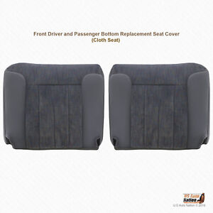 1996 Dodge Ram 1500 2500 3500 Left Right Bottoms Cloth Seat Cover Replacement