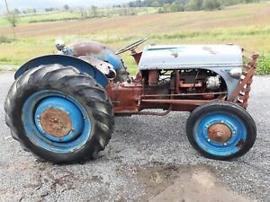 1940 Ford 9n Tractor Runs Good Antique Vintage Used