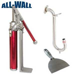 Level5 Drywall Compound Loading Pump W Gooseneck Box Filler Free Joint Knife