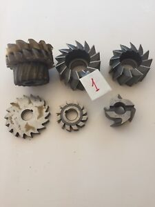 Lot 1 Shell End Mill And Hss Milling Cutter Set 8 Item Bundle