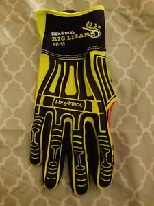 Hexarmor rig Lizard Gloves 2021 9 l Size Large New 4 Pair