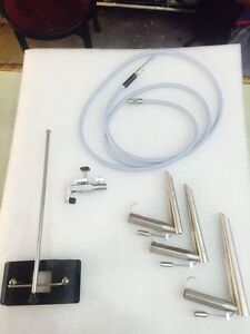 Fiber Optic Operating Laryngoscope With Fiber Optic Cable Chest Support Holdev
