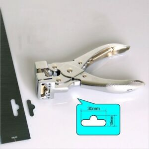 Hand Held Hole Puncher Punch Airplane Hole Pliers For Card Pvc Plastic Paper