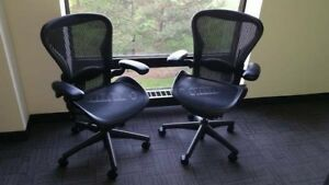 30 Herman Miller Aeron Chairs Posture Fit Great Condition