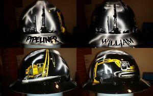 Pipeliners Themed Hard Hat