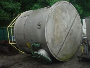 3000 Gallon Stainless Steel Flat Bottom Tank Flat Top