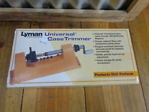 Lyman Universal Case Trimmer Kit with 9 Pilots 7862000