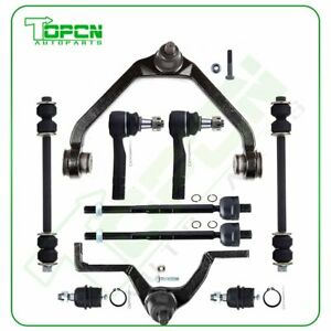 10pcs For 1998 1999 2000 2003 Ford Ranger Rwd 4wd Front Complete Suspension Kit
