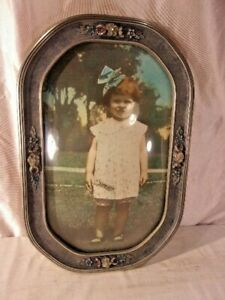 Large Vintage Victorian Frame With Print 25 1 2 X 38 1 2 Holds 17x30
