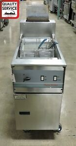 Pitco Frialator Pg14d Commercial Pasta Cooker Natural Gas