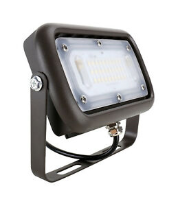 Led Landscape Flood Light 20w 40w 12 24 Volt Fork Lift Work Light Wall Pack
