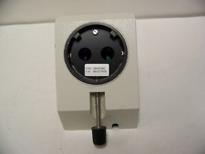 Wild Leica Microscope 10445296 Stereo Head Coupler Adapter Surgical 446476