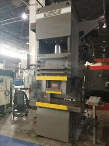 Standard Industrial Dc 300 c Hydraulic Gap Frame Press B38441
