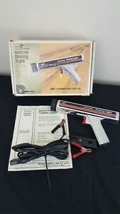 Vtg Inductive Timing Light 28 2134 Sears Craftsman Box Manual Cords Included