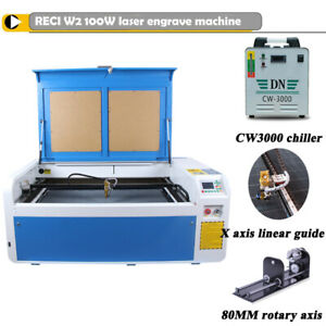 100w Laser Engraver Cutter Machine Engraving For Wood mdf plywood acrylic glass