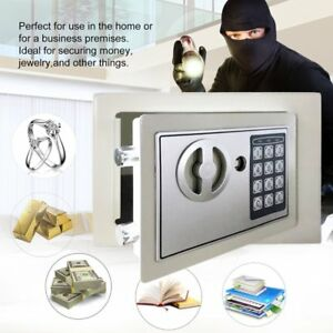 Electronic Digital Safe Box Keypad Lock Security Home Office Cash Jewelry Us Ma