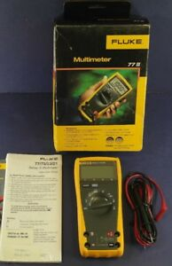 New Fluke 77 Iii Multimeter Ob See Details Screen Protector