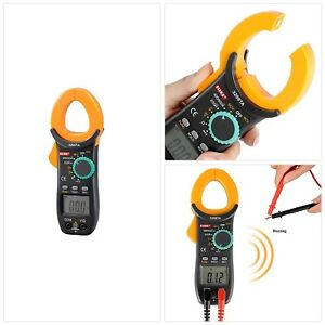 600a Auto Ranging Digital Clamp On Meter Electrical Tester Smooth Dial Iec Safe