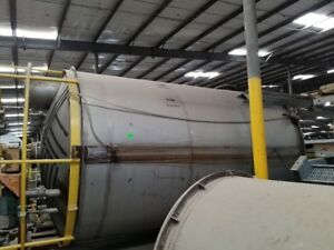 6000 Gallon 316 Stainless Steel Mix Tank