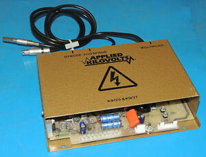 Thermo Applied Kilovolts K9 27 Power Supply 15kv For Dynode Phosphor Multiplier