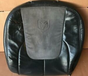2002 2006 Dodge Ram Leather Passenger Seat Backrest Back Rest Cushion Cover Skin