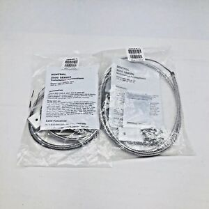 Qty 2 Ge 2505a l sentrol Wide Gap Surface Mount Armored Alarm Contact