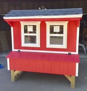 Chicken Coop Custom Pen Poultry Shed Hen House 5x6