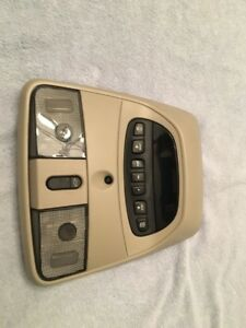 07 2007 Durango Overhead Console W homelink Lift Gate Switch Oem Taupe