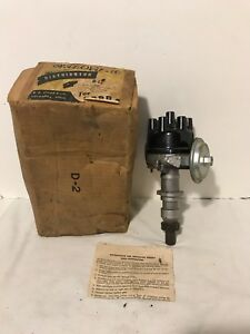 Nos Power O Matic 1952 1954 Ford Car Truck 6 Cylinder Distributor Faa 12127