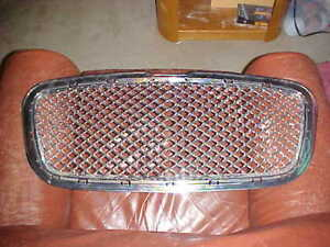 Bentley Continental Gt Chrome Grille 04 07 Oem Made In Italy Used