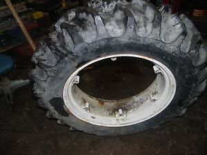 Ferguson To 20 Tractor Good Year Tires And Rims
