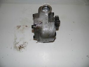 Farmall 706 Tractor Hydraulic Pump