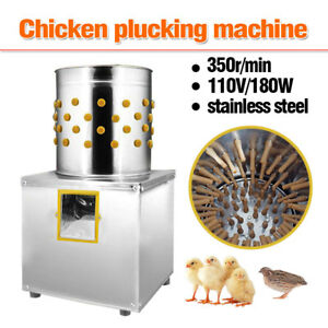 Chicken Plucker Plucking Machine Stainless Steel Poultry De feather Machine