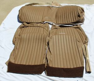 61 62 Ford Thunderbird Tbird New Complete Set Of All Leather Seat Covers