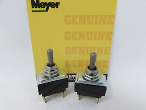 Genuine Meyer Snow Plow Lift Angle Toggle Switch Set 21918 21919