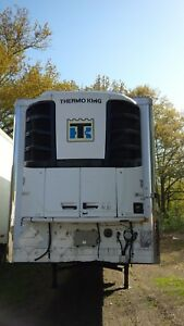 2007 Utility 53 Reefer Trailer W Thermo King S600 Unit 20375