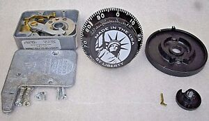 S g 6741 Combo Safe Lock W liberty Logo Black Finish Locksmith