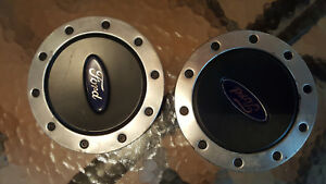 Two 1999 2003 Ford Windstar Center Caps 1f22 1a096 Ba Oem