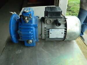 Motovario T71b2 0 66kw new Electric Motor W new Sf 005 gear Reducer