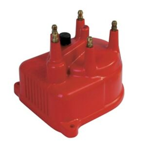 Msd 82922 Distributor Cap Modified For Honda Civic 1 5 6l 92 2000 Red