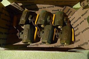 Parker Brass Ball Valve 1 2 Npt Lot Of 6 Used