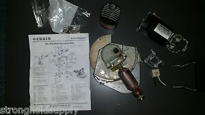 Used Armature With Gear For Crain Saw 555 you Are Buying Part Of The Picture