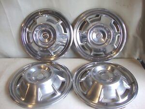 1967 1968 Chevrolet Chevy Camaro 14 Hubcaps Wheel Covers Set Of 4