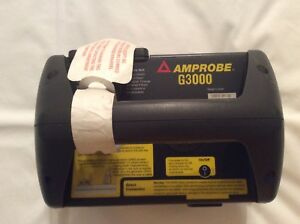 Amprobe G3000 Cable And Pipe Locator new Old Stock