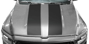 Hood Cowl Vinyl Graphic Decal Stripes For Dodge Ram 1500 2019 Up