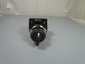 Square D Selector Switch Class 9001 Type Ks42b 2n o 2n o Nos
